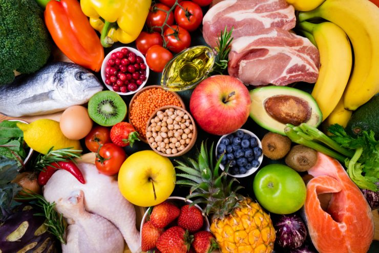 Different Types of Diet Foods